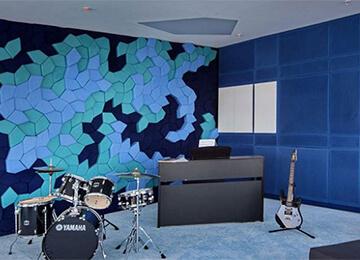 Müzik odası akustik yaltım